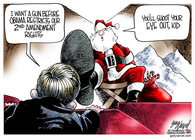 Editorial Cartoons by Gary Varvel - gv20081209cd - 09 December 2008