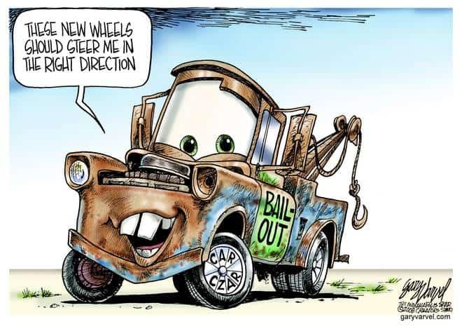 Editorial Cartoons by Gary Varvel - gv20081211cd - 11 December 2008
