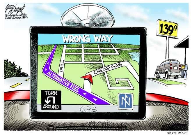 Editorial Cartoons by Gary Varvel - gv20081212cd - 12 December 2008
