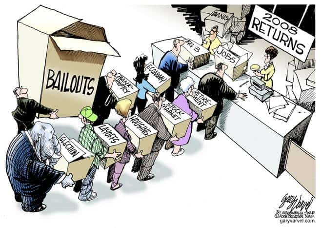 Editorial Cartoons by Gary Varvel - gv20081229cd - 29 December 2008