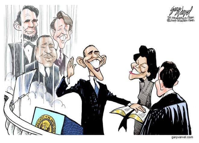 Editorial Cartoons by Gary Varvel - gv20090120cd - 20 January 2009