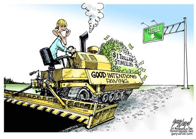 Editorial Cartoons by Gary Varvel - gv20090126acd - 26 January 2009