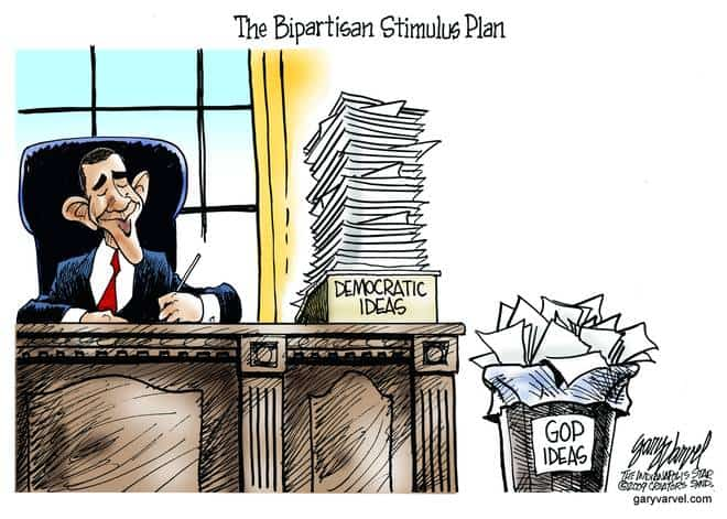 Editorial Cartoons by Gary Varvel - gv20090129cd - 29 January 2009