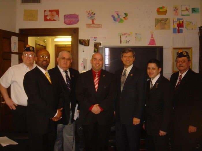Meeting with Disabled American Veterans 022409