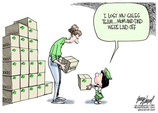 Editorial Cartoons by Gary Varvel - gv20090226cd - 26 February 2009