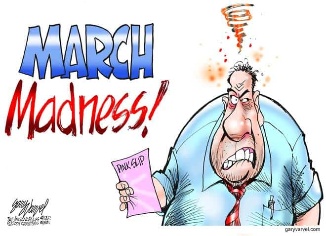 Editorial Cartoons by Gary Varvel - gv20090309acd - 09 March 2009