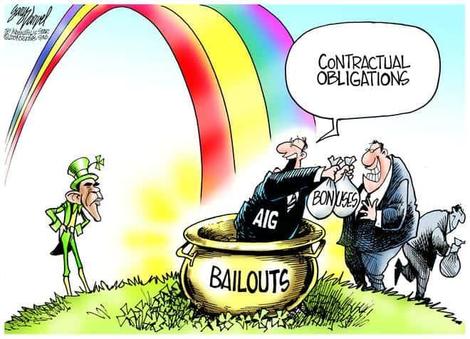 Editorial Cartoons by Gary Varvel - gv20090317acd - 17 March 2009