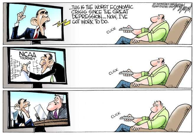 Editorial Cartoons by Gary Varvel - gv20090320cd - 20 March 2009