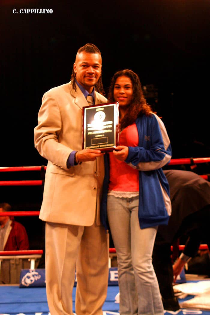 Melissa Roberts Outstanding Boxer of the Evening Award