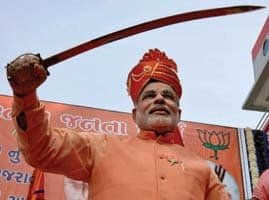 Nrendra Modi, Symbol of Hindutwa in BJP