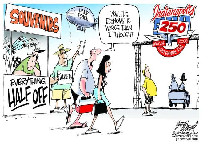 Editorial Cartoons by Gary Varvel - gv20090522acd - 22 May 2009