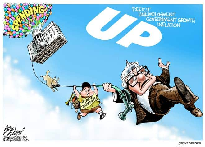 Editorial Cartoons by Gary Varvel - gv20090609bcd - 09 June 2009