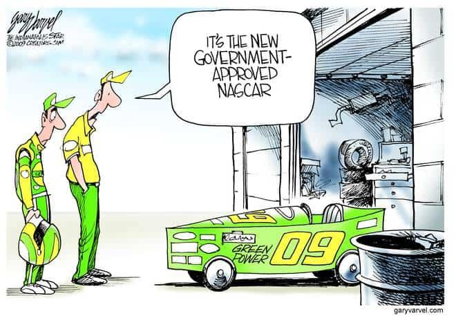 Editorial Cartoons by Gary Varvel - gv20090727bcd - 27 July 2009