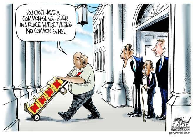 Editorial Cartoons by Gary Varvel - gv20090729cd - 29 July 2009