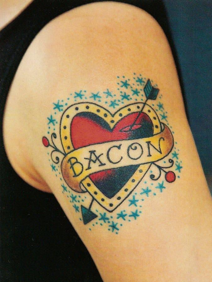 5 Bacon Love Tattoo