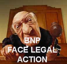 BNP legal action