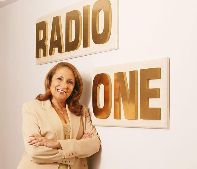 Cathy Hughes Radio One Sign