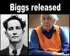 Ronnie Biggs released