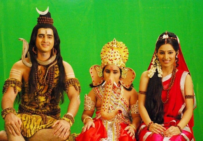 Shiv Ganesh Parvati
