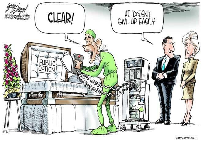 Editorial Cartoons by Gary Varvel - gv20090818cd - 18 August 2009