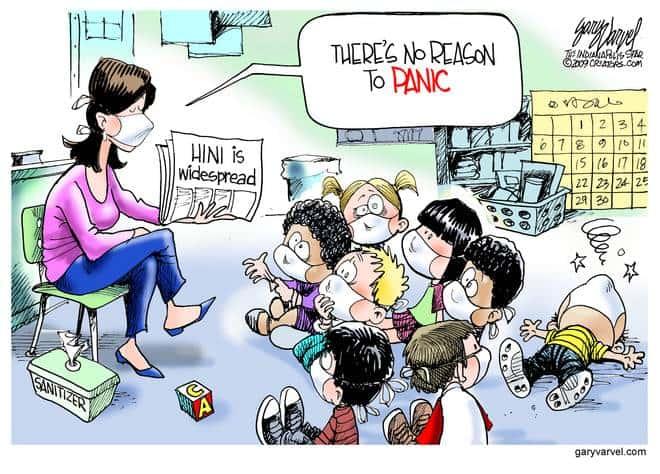 Editorial Cartoons by Gary Varvel - gv20090828cd - 28 August 2009