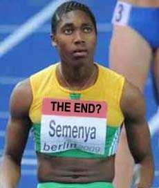Caster Semenya End