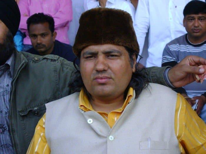 Rana Tejinder Singh Chauhan President Ramleela Club Barara