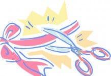 ambassador kapneck ribbon cutting