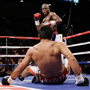 Mayweather Reigns over Marquez