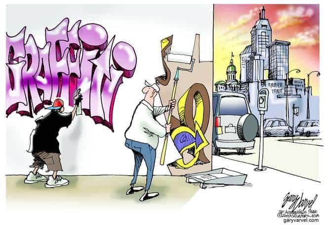 Editorial Cartoons by Gary Varvel - gv20090904cd - 04 September 2009