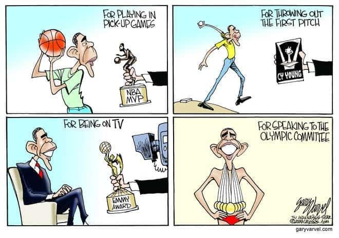 Editorial Cartoons by Gary Varvel - gv20091012cd - 12 October 2009