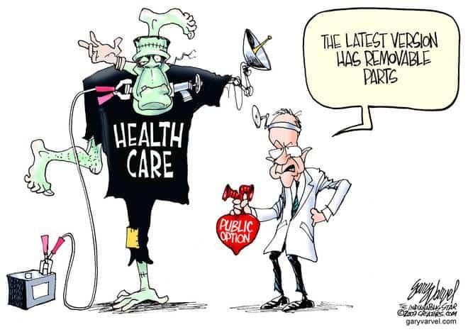Editorial Cartoons by Gary Varvel - gv20091028cd - 28 October 2009