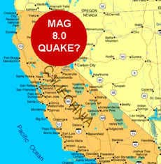 California quake prediction
