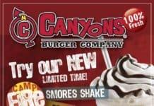 canyons fresh burger.