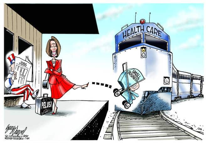 Editorial Cartoons by Gary Varvel - gv20091103cd - 03 November 2009