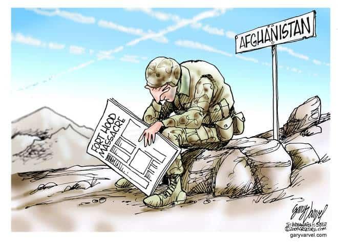 Editorial Cartoons by Gary Varvel - gv20091109cd - 09 November 2009