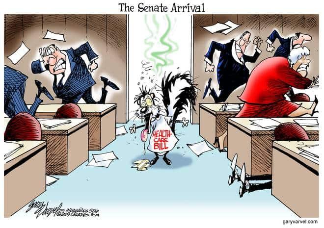 Editorial Cartoons by Gary Varvel - gv20091110cd - 10 November 2009