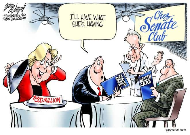 Editorial Cartoons by Gary Varvel - gv20091124cd - 24 November 2009