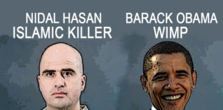 Nidal Hasan and Barack Obama.