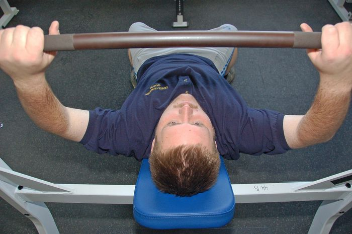 Rocky Stroup exercises regularly after losing 189 pounds.