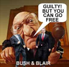 Iraq Inquiry Guilty but you can go free