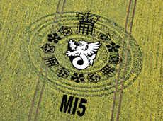MI5 Crop Circle