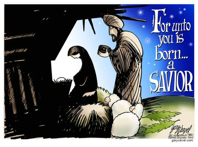 Editorial Cartoons by Gary Varvel - gv20091225cd - 25 December 2009