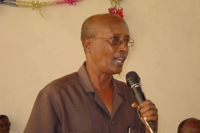 General Abdi Hassan Awale, known as Qeybdid