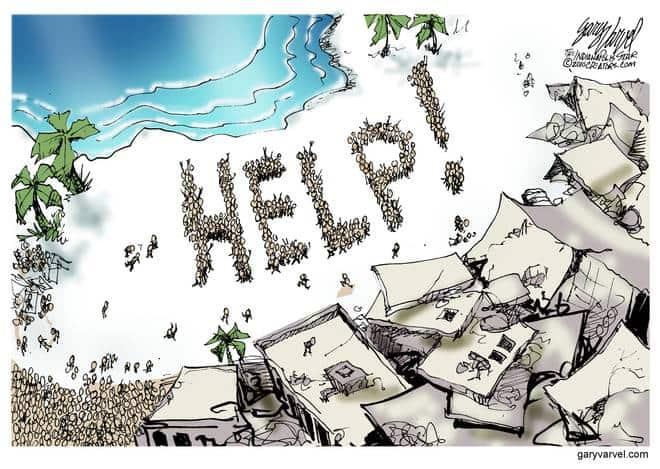 Editorial Cartoons by Gary Varvel - gv20100116cd - 16 January 2010