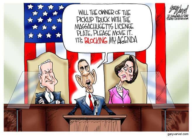 Editorial Cartoons by Gary Varvel - gv20100124cd - 24 January 2010