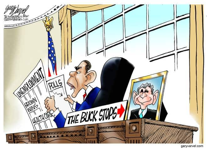 Editorial Cartoons by Gary Varvel - gv20100126cd - 26 January 2010