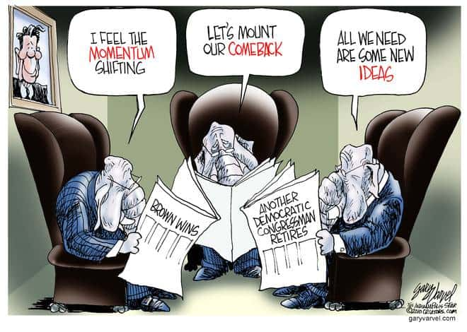 Editorial Cartoons by Gary Varvel - gv20100127cd - 27 January 2010
