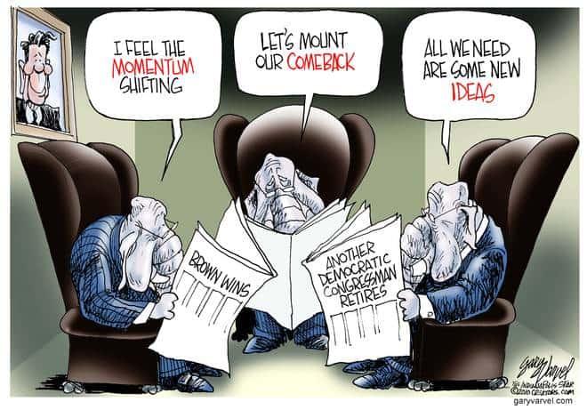 Editorial Cartoons by Gary Varvel - gv20100127cd - 27 January 2010