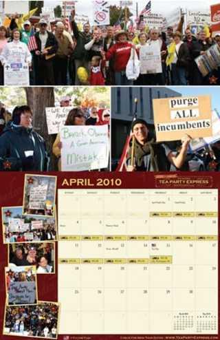 tea party calendar